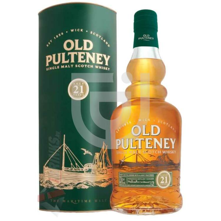 Old Pulteney 21 Years Whisky [0,7L|46%]