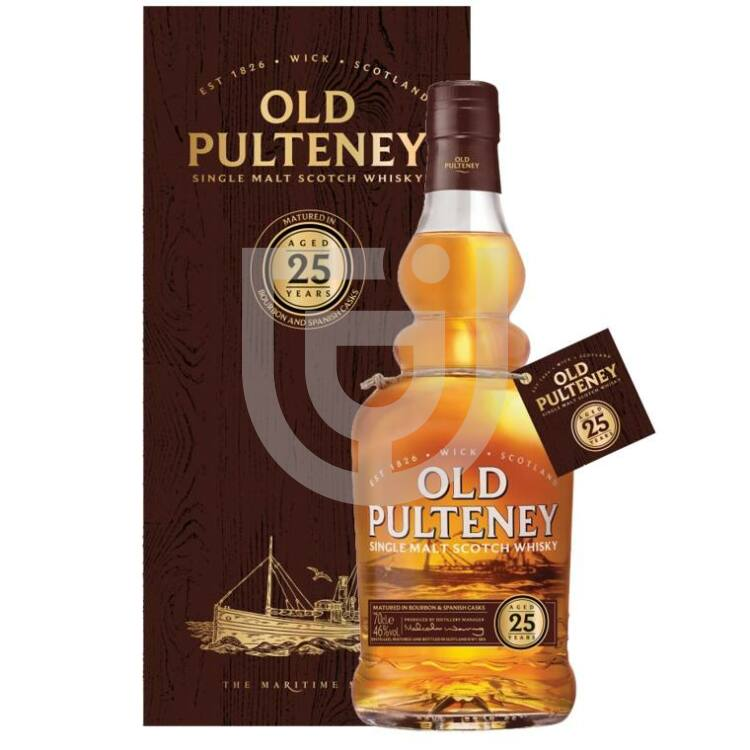 Old Pulteney 25 Years Whisky [0,7L|46%]