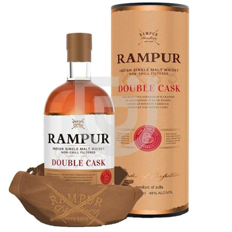 Rampur Indian Single Malt Double Cask Whisky [0,7L|45%]