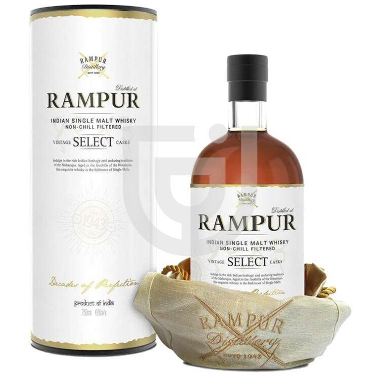 Rampur Indian Select Single Malt Whisky [0,7L 43%]