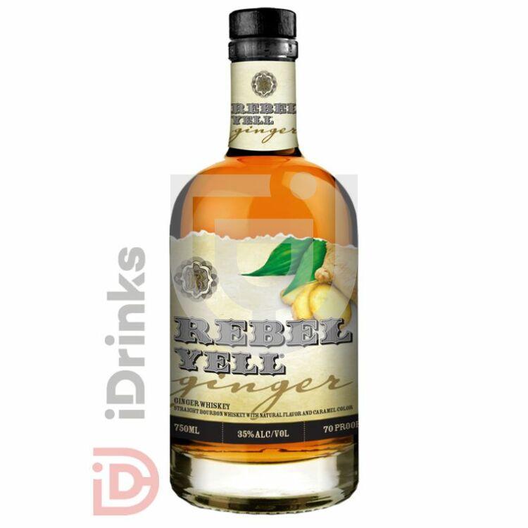 Rebel Yell Ginger Whiskey [0,7L|35%]