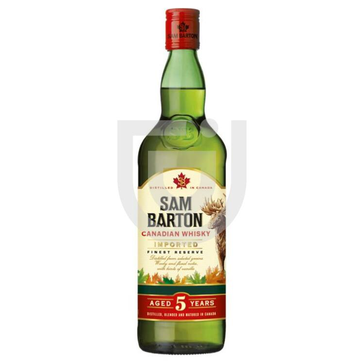 Sam Barton 5 Years Canadian Whisky [0,7L|40%]