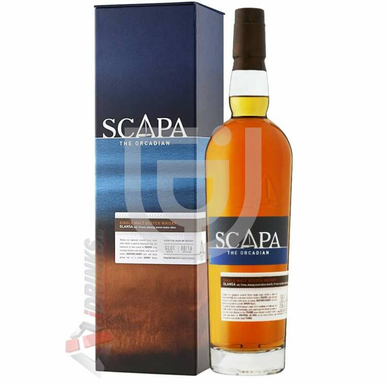 Scapa Glansa Whisky [0,7L|40%]
