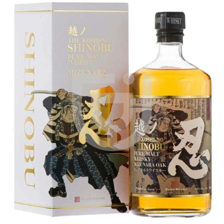 Shinobu Pure Malt Whisky Mizunara Oak Finish [0,7L 43%]