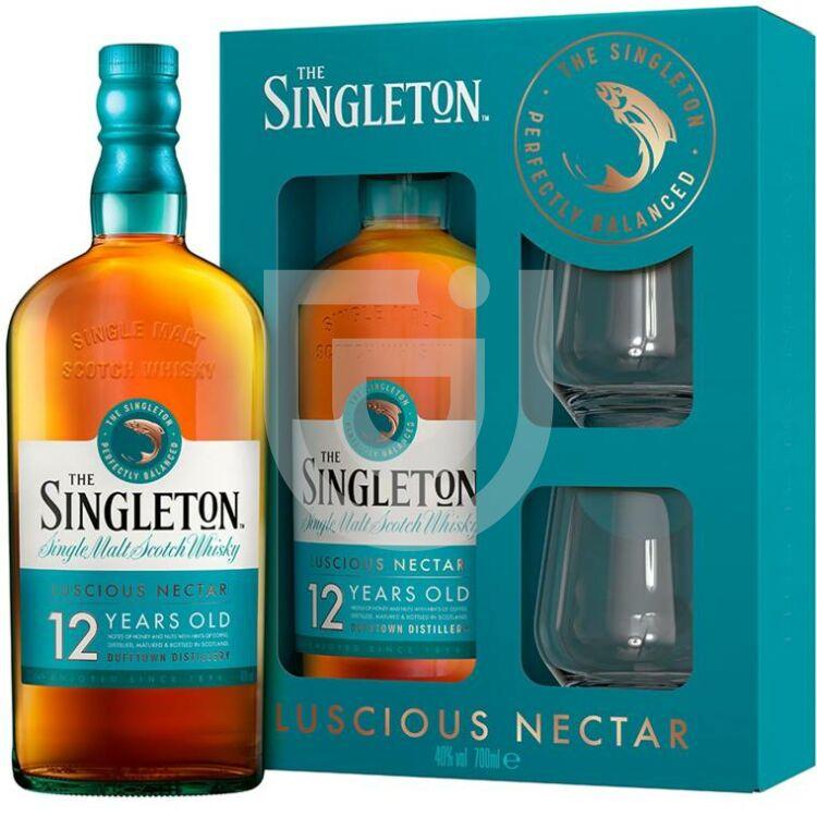 Singleton 12 Years Whisky (DD+2 Pohár) [0,7L|40%]