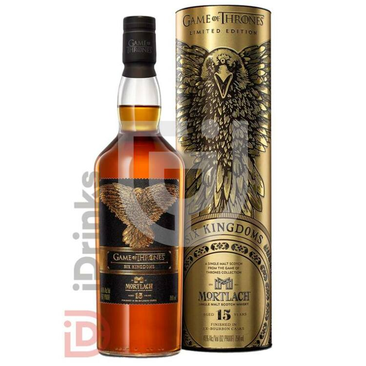 Six Kingdoms & Mortlach 15 Years Whisky - Game of Thrones Collection [0,7L|46%]