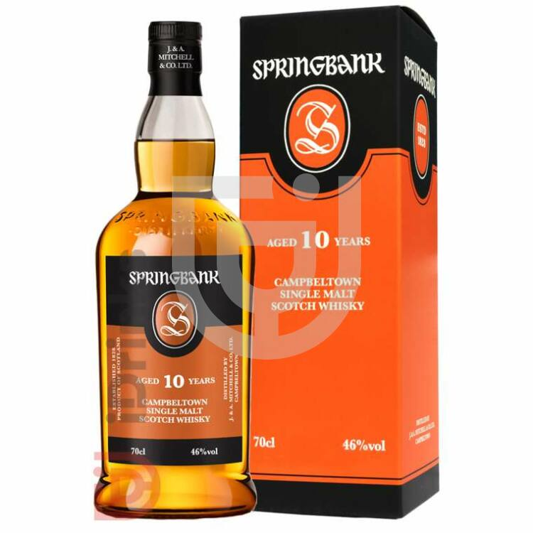 Springbank 10 Years Whisky [0,7L|46%]