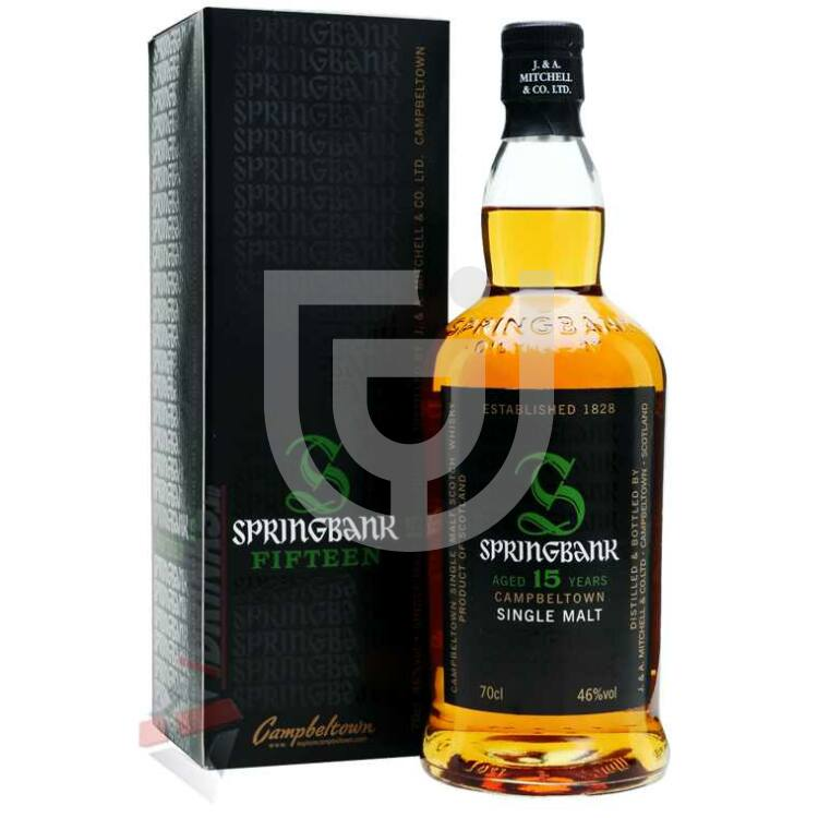 Springbank 15 Years Whisky [0,7L|46%]