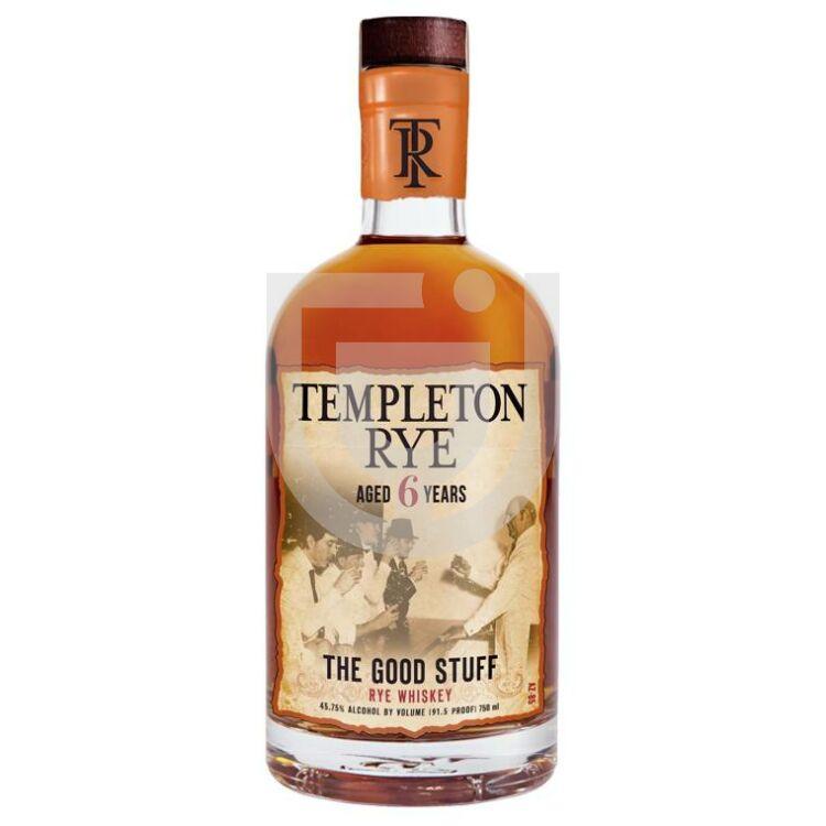 Templeton Rye 6 Years Whiskey [0,7L|45,75%]