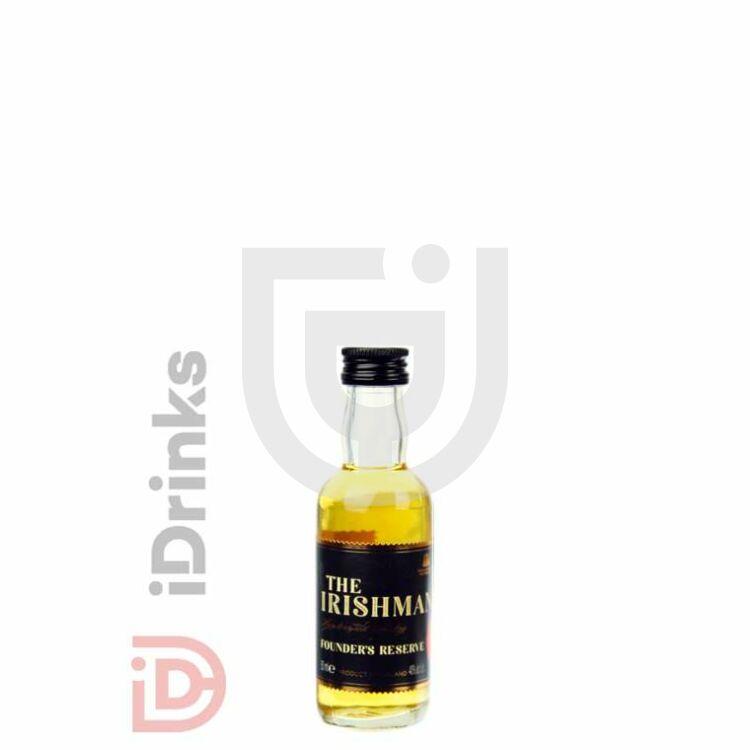 The Irishman Founders Reserve Whiskey Mini [0,05L 40%]