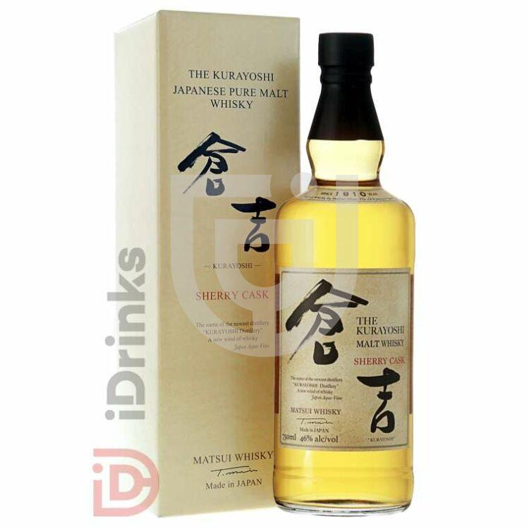 Kurayoshi Pure Malt Sherry Cask Whisky [0,7L|43%]
