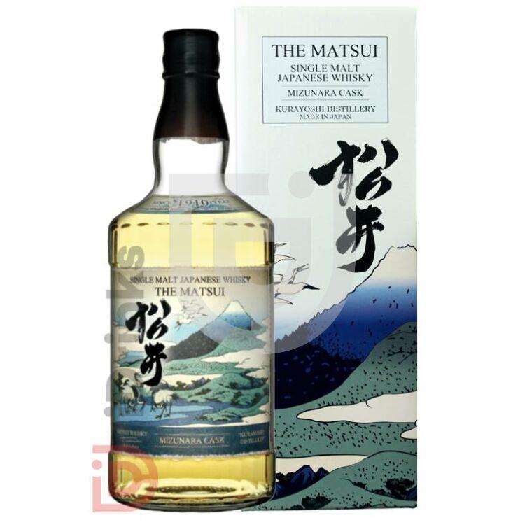 The Matsui Single Malt Mizunara Cask Whisky [0,7L|48%]