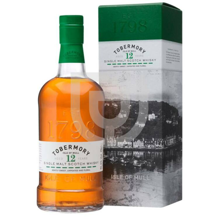 Tobermory 12 Years Whisky [0,7L|46,3%]