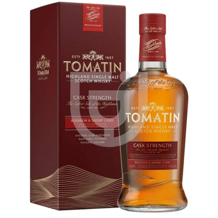 Tomatin Cask Strength Whisky [0,7L|57,5%]