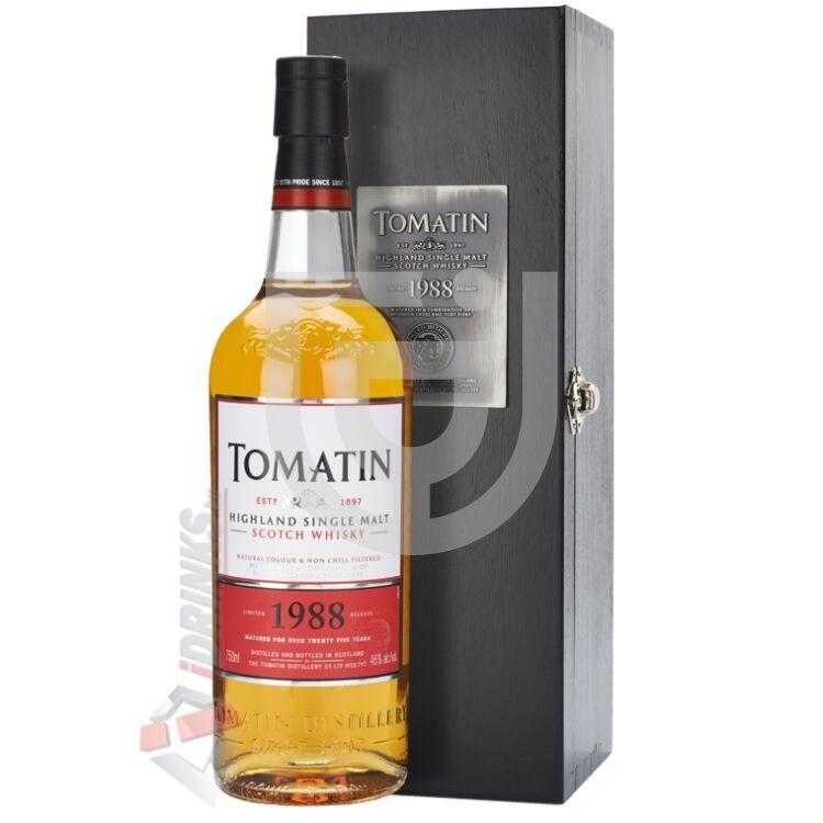 Tomatin Vintage 1988 Whisky [0,7L|46%]