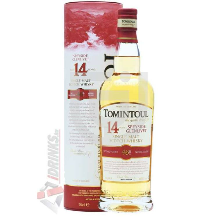 Tomintoul 14 Years Whisky [0,7L|46%]