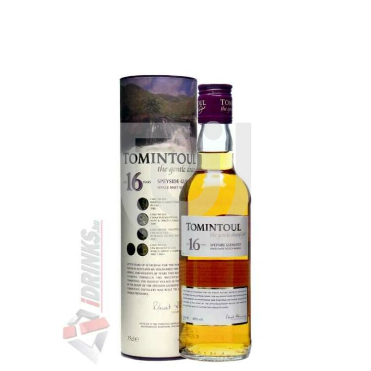 Tomintoul 16 Years Whisky [0,35L 40%]