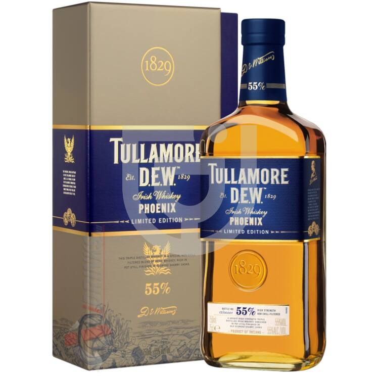 Tullamore Dew Phoenix 1829 Limited Edition Whiskey [0,7L 55%]