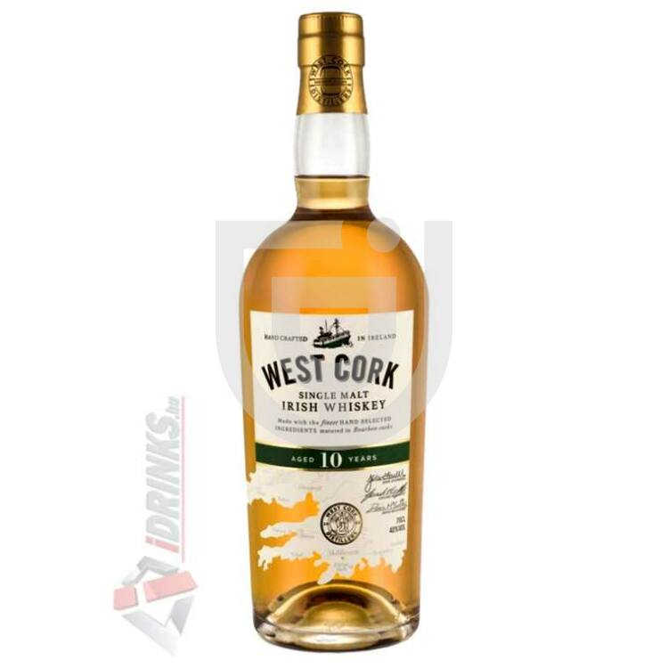 West Cork Single Malt 10 Years Whiskey [0,7L|40%]