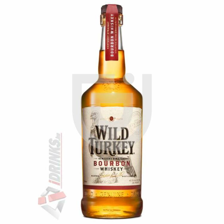 Wild Turkey 81 Proof Whiskey [0,7L|40,5%]
