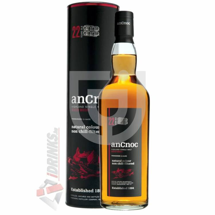 anCnoc 22 Years Whisky [0,7L 46%]