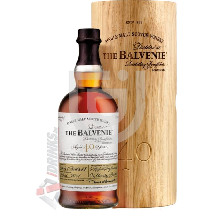 Balvenie 40 Years Whisky [0,7L 48,5%]