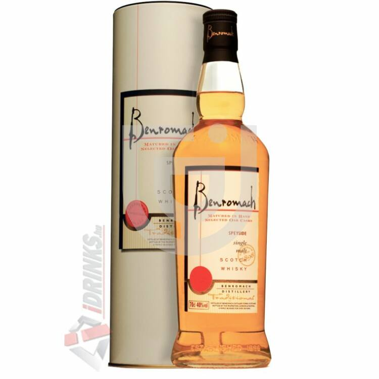 Benromach Traditional Whisky (DD) [0,7L 40%]