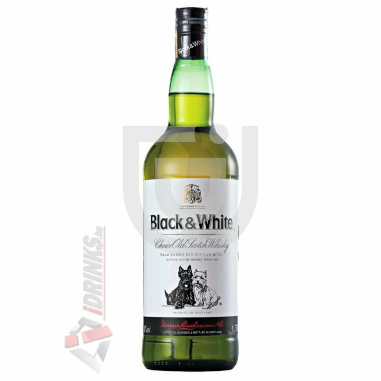 Black & White Whisky [1L|40%]