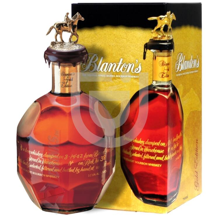 Blantons Gold Edition Whiskey [0,7L|51,5%]