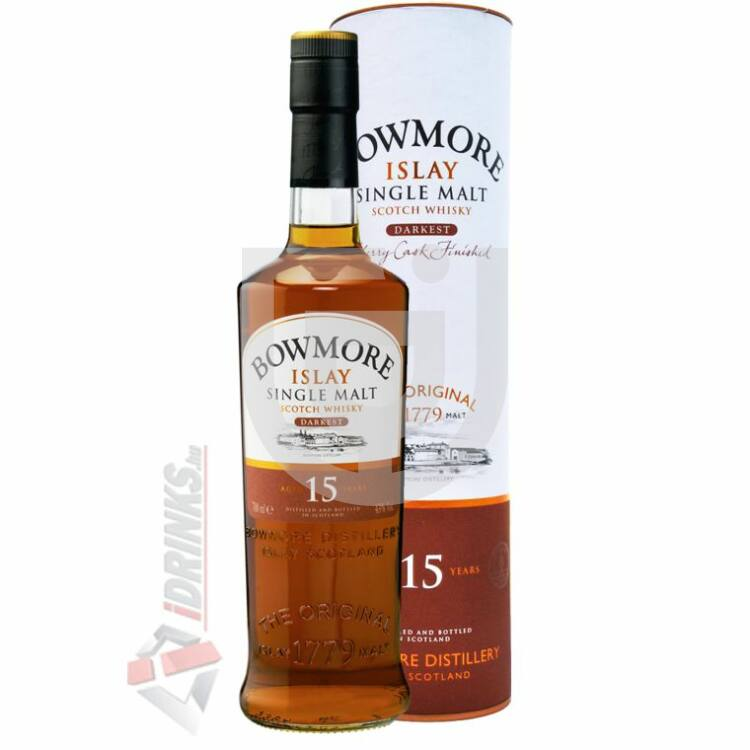 Bowmore Darkest 15 Years Whisky [0,7L|43%]