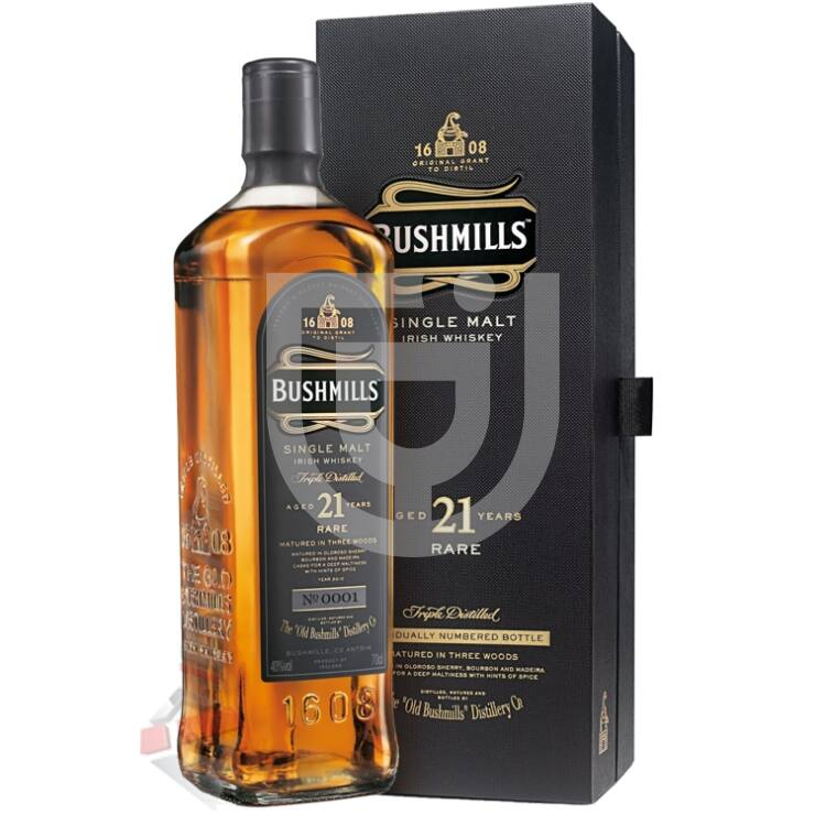 Bushmills 21 Years Whiskey [0,7L|40%]
