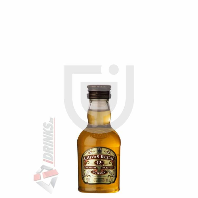 Chivas Regal 12 Years Whisky Mini [0,05L|40%]