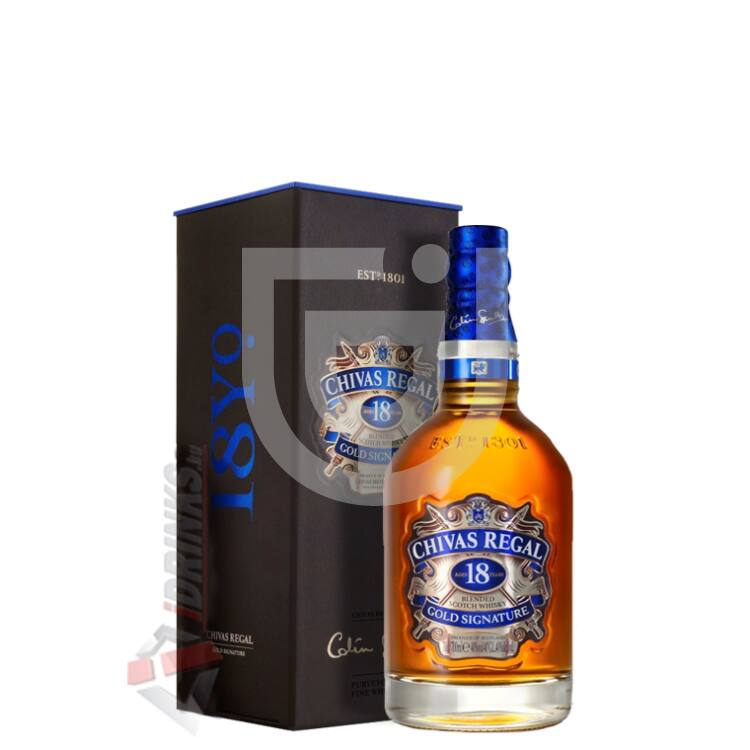 Chivas Regal 18 Years Whisky [0,2L 40%]