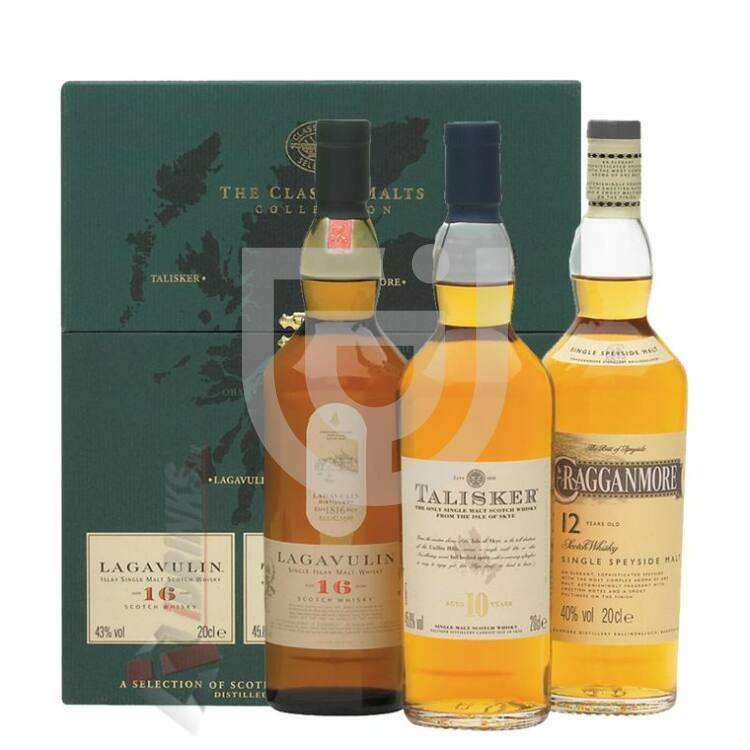 "Classic Malts Collection ""Green"" [3*0,2L