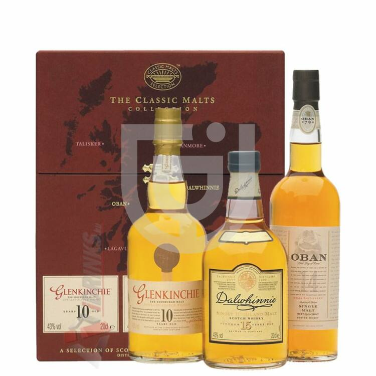 """Classic Malts Collection """"Red"""" [3*0,2L 43%]"""