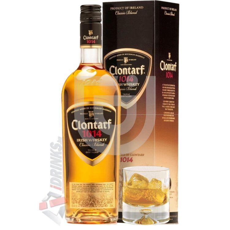 Clontarf Classic Blend Whiskey (DD + 1 Pohár) [0,7L|40%]
