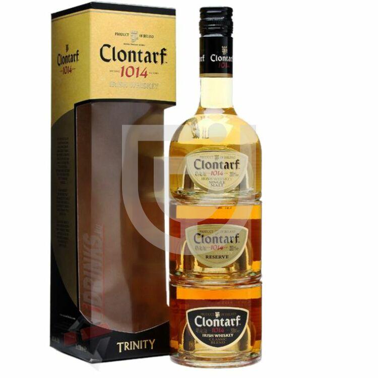 Clontarf Trinity Pack Whisky [0,6L 40%]