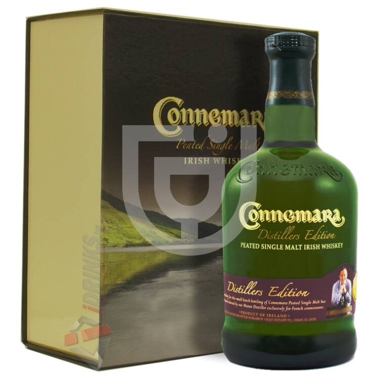Connemara Distillers Edition Whiskey (DD+2 Pohár) [0,7L|43%]