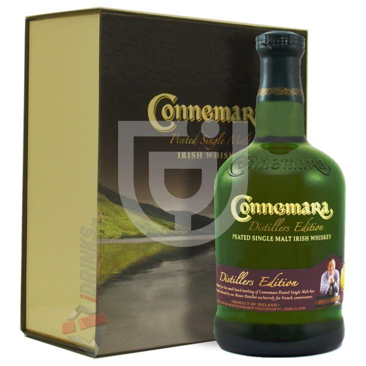 Connemara Distillers Edition Whiskey (DD+2 Pohár) [0,7L|43%]