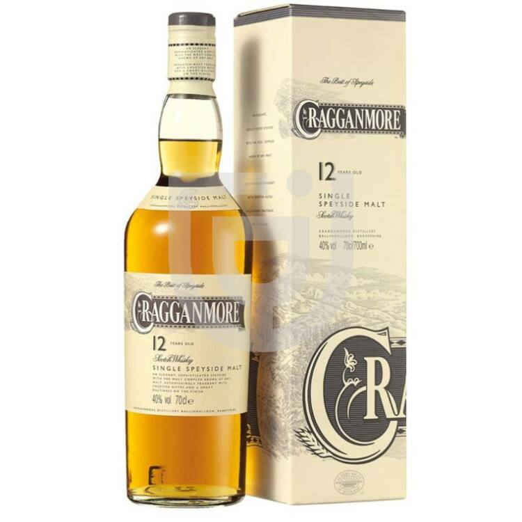 Cragganmore 12 Years Whisky (DD) [0,7L 40%]