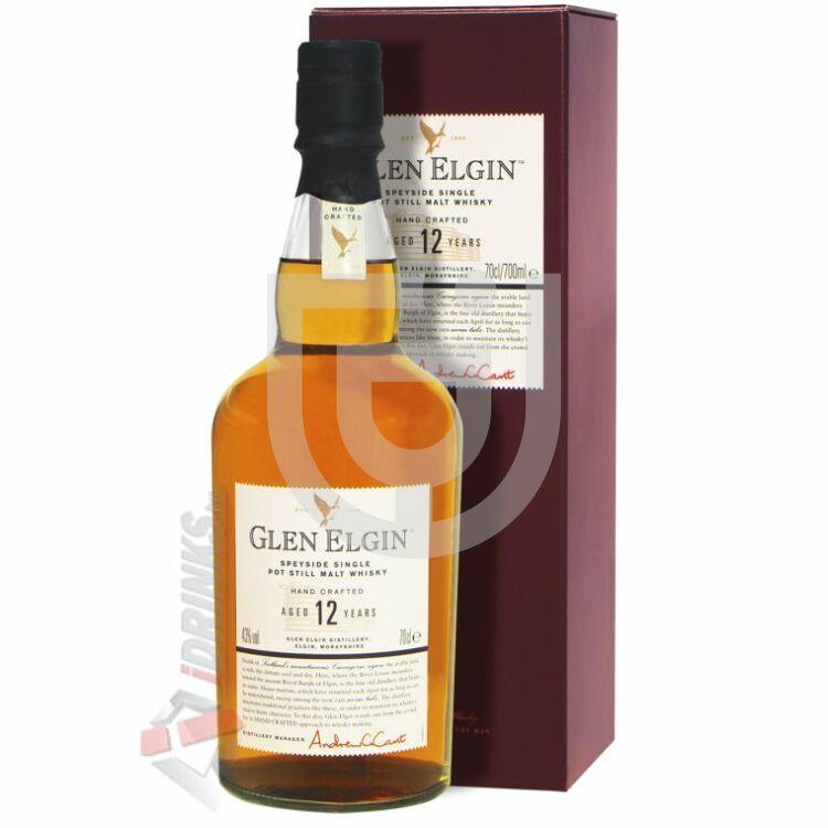 Glen Elgin 12 Years Whisky [0,7L|43%]