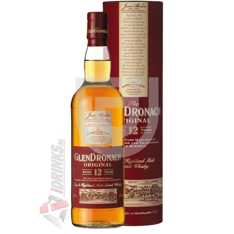 GlenDronach 12 Years Whisky [1L|43%]