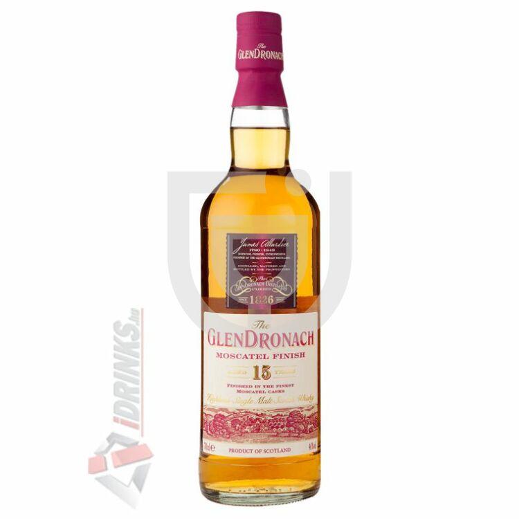 GlenDronach 15 Years Moscatel Finish Whisky [0,7L 46%]