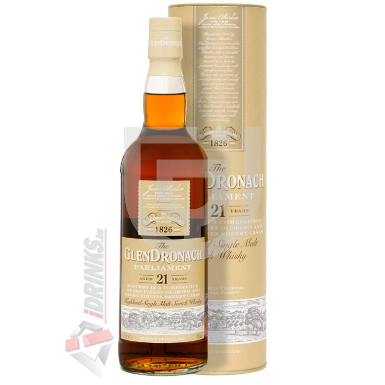 GlenDronach 21 Years Parliament Whisky [0,7L 48%]