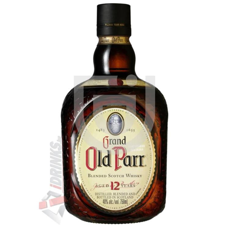 Grand Old Parr 12 Years Whisky [1L|40%]