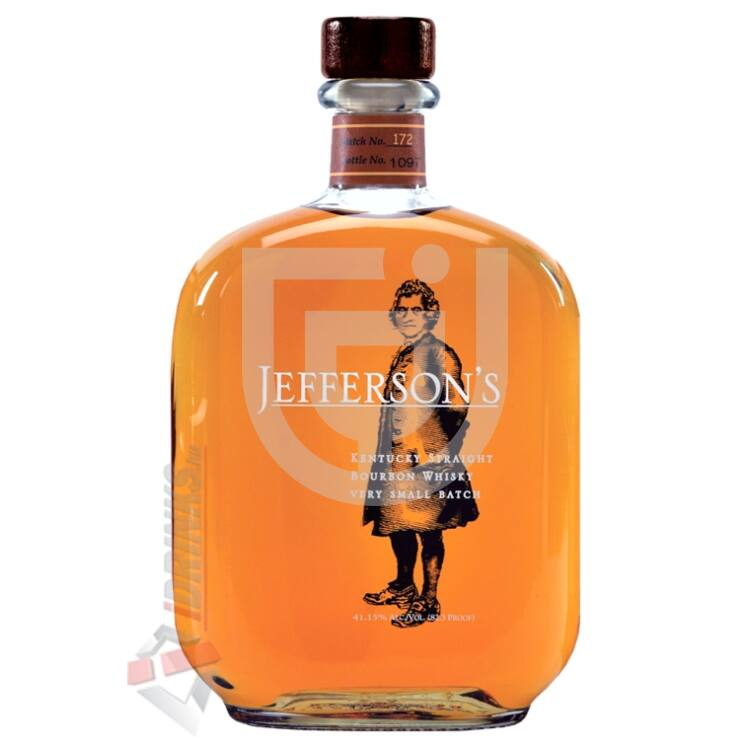 Jefferson's Bourbon Whiskey [0,7L|41,2%]