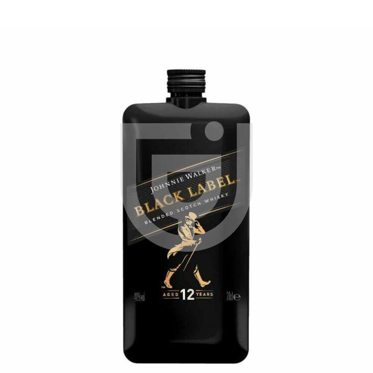 Johnnie Walker Black Label Whisky (Pocket PET) Midi [0,2L 40%]