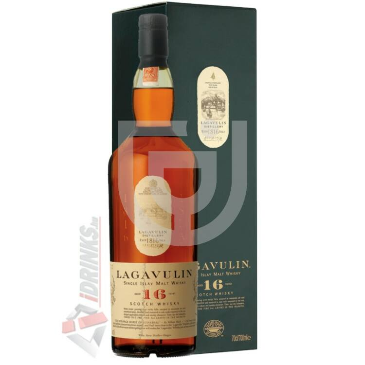 Lagavulin 16 Years Whisky [0,7L|43%]