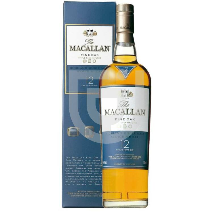 Macallan 12 Years Fine Oak Whisky [0,7L 40%]