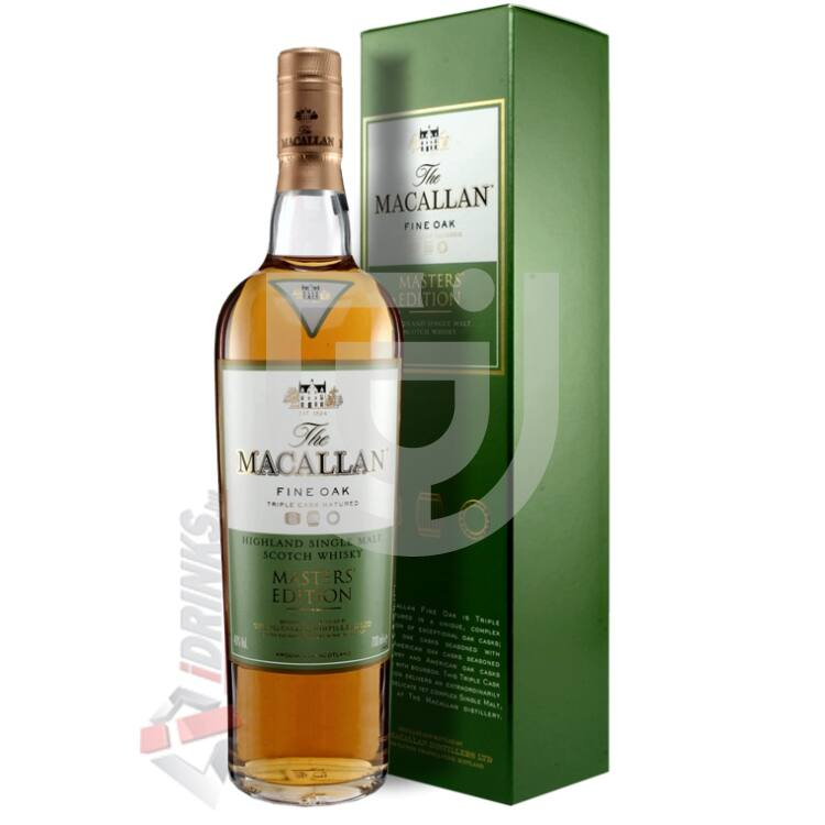 Macallan Fine Oak Masters Edition Whisky [0,7L|40%]